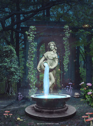 The Fountain by perzarus