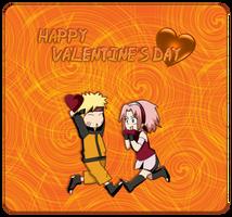 Naruto - Happy Valentine's Day Card by Vanites