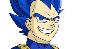 Vegeta SSJ Blue 2 (?) by Vanites