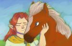 Malon and Epona