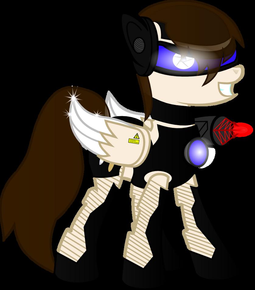 Cyber Pony by Invader-Matt