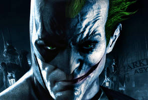 Batman-Joker Photo Manipulation by El-Fox