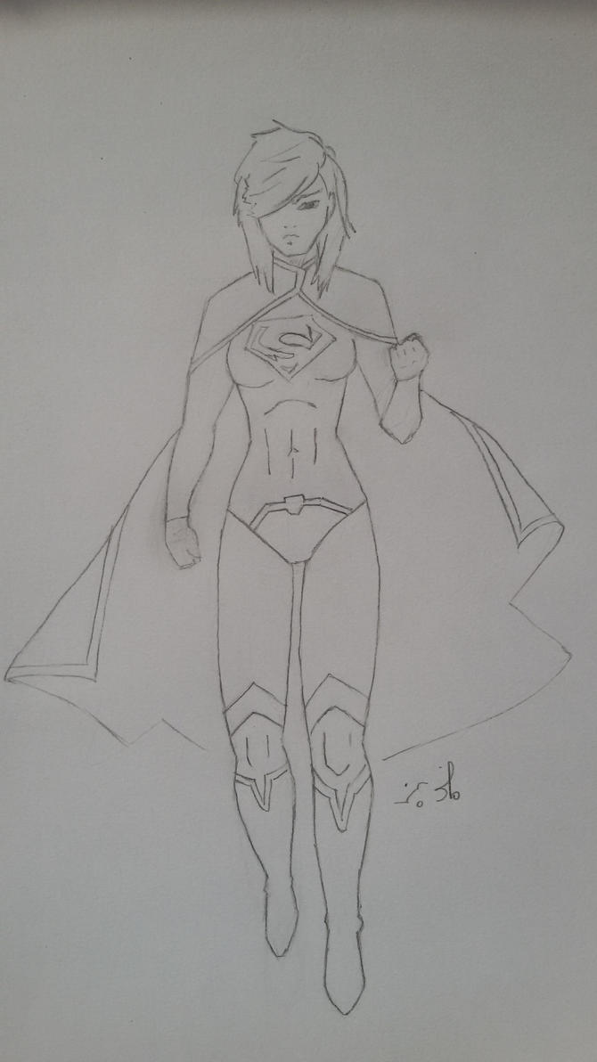 Supergirl - or an attempt (before going wrong) by LordSatoh