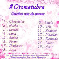 Lista Otometubre by ArteArtema