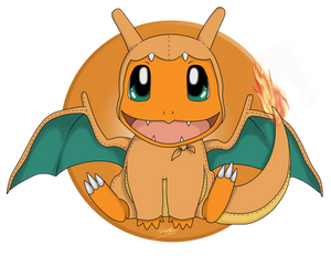 Charmander as Charizard