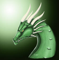 Emerald Scale Dragon
