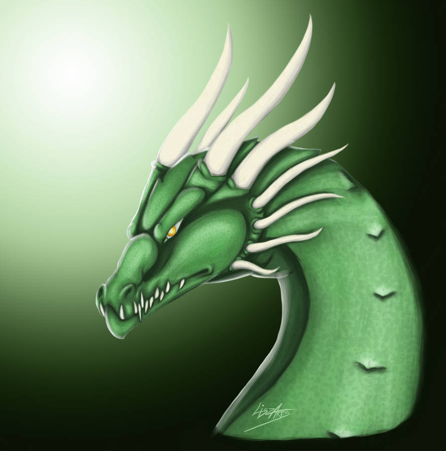 Emerald Scale Dragon