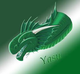 Yasu's Hiss   Istaria Fanart