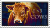 Cow Stamp by Valsier