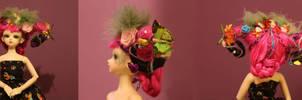 Costum wig by VampierDraakje