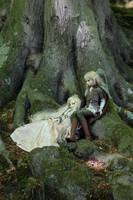 The elves by VampierDraakje