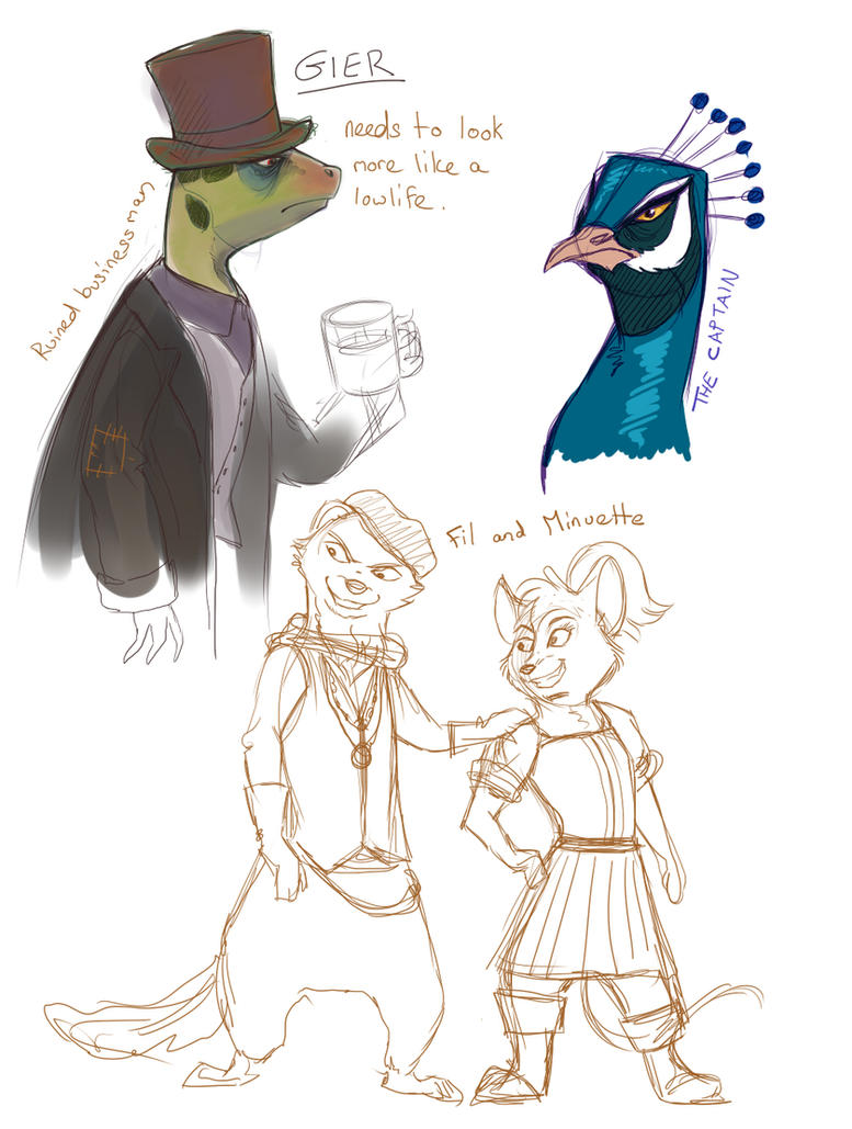 Some Characters by Saphamia