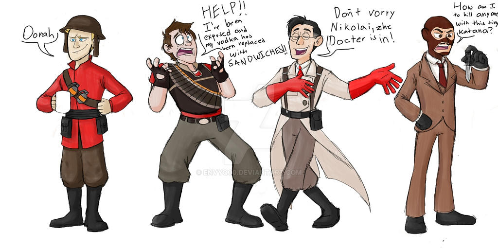 Tf2cod Zombies Request For Australiumsiren By Envyq00 On Deviantart