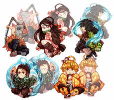 Demon Slayer charm ideas