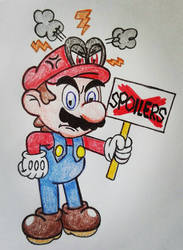Mario and Cappy: say NO to Spoilers