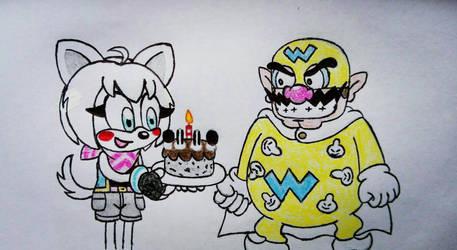 Happy birthday Super Wario Man
