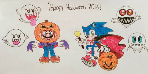 Mario and Sonic: Happy Halloween!
