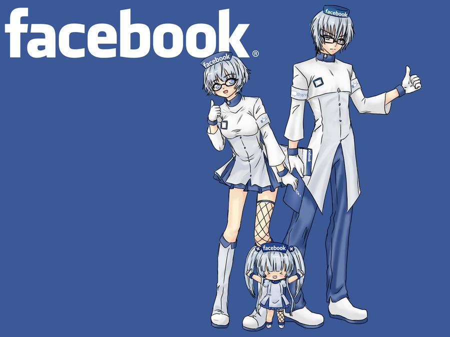 facebook anime by shino sama nya d58i0w1 Soi thói quen sử dụng Facebook của 12 cung Hoàng đạo