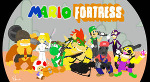 Mario Fortress by metallic-orb