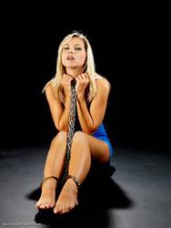 Jenni C - Loving Her Chains 016 by bondagepics51