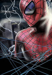 Spiderman by EOW-C