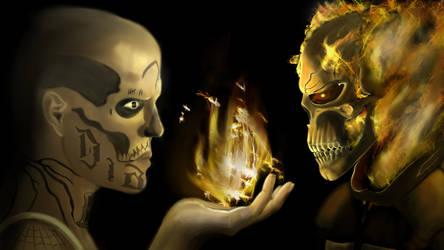 El Diablo vs Ghost Rider by EOW-C