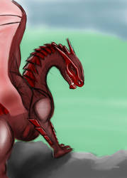 Ruby Dragon by EOW-C