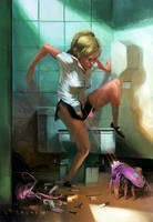 Pink Robots by Yaroslav