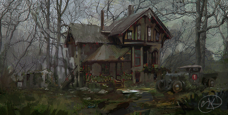 Oldhouse by Yaroslav