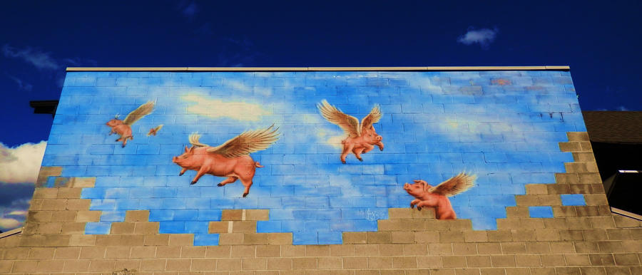 If pigs could fly by lucium55