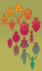 ancient goddeses by suriguri