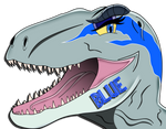 Blue The Velociraptor