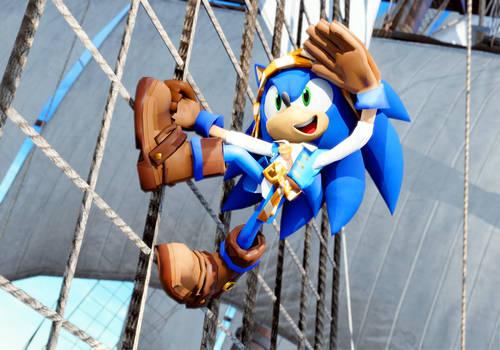 Pirate Sonic.