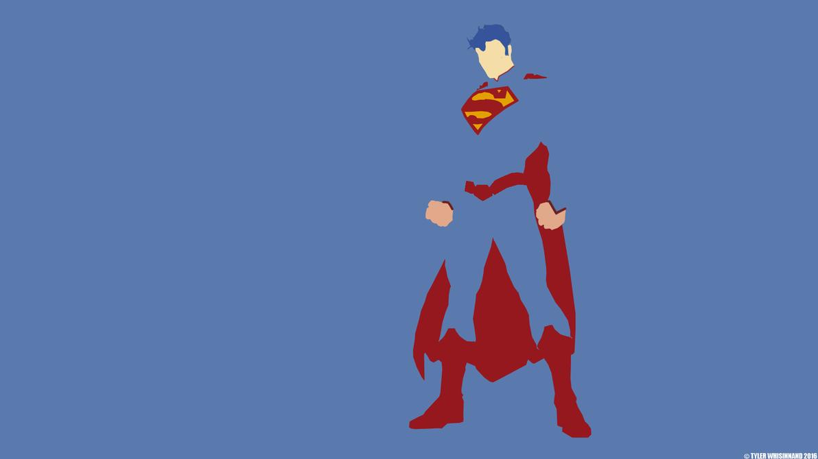 Minimalistic Superman Wallpaper by SKILLEDGRAPHICS on ...