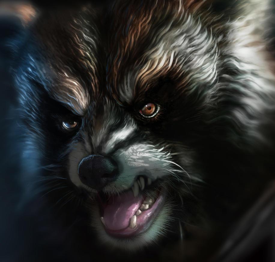 Fur study by lukemandieart