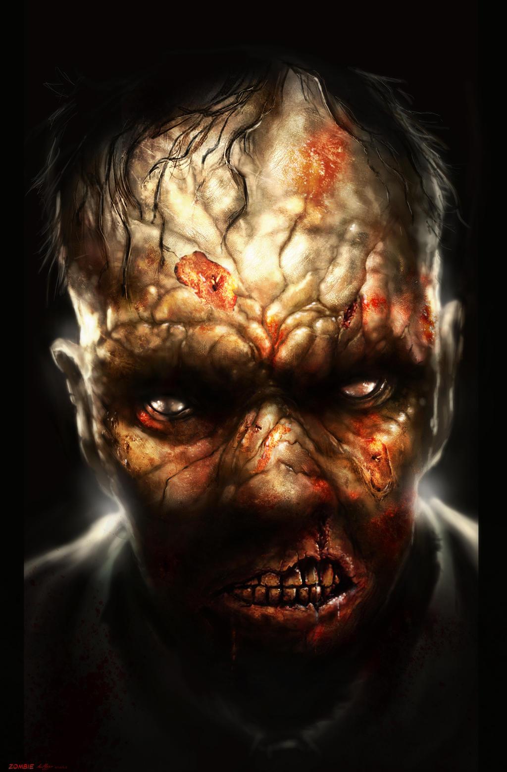 Zombie! by lukemandieart