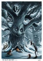 The Tale of Jack Frost by lukemandieart