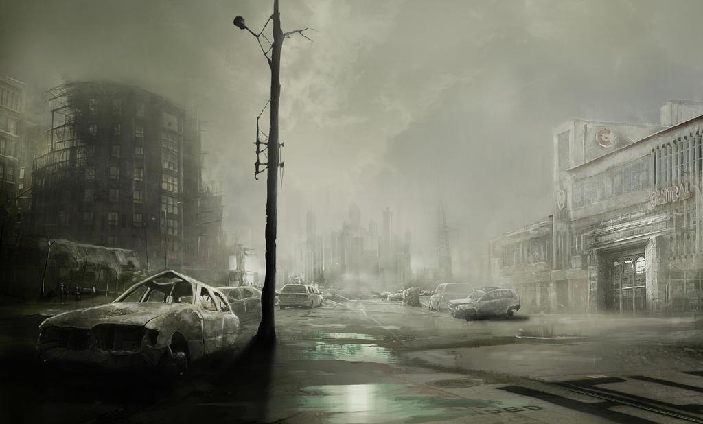Game Concept Art by lukemandieart