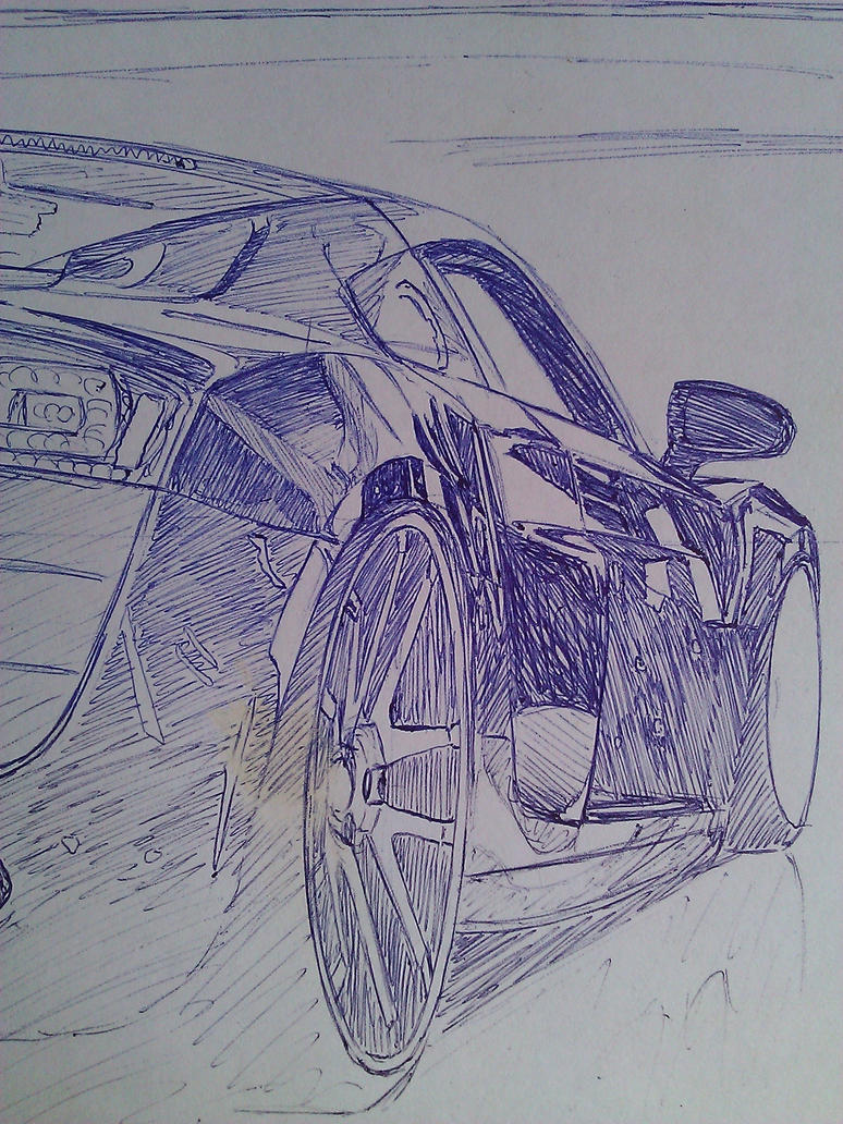 R8 reflections - sketch by SquidInc
