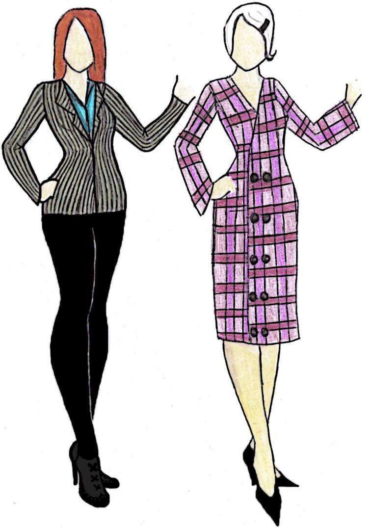 fashion sketches 1 by mysickness on deviantart