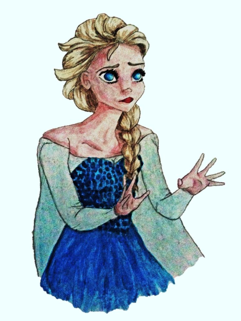 Elsa #5 by Itzaka