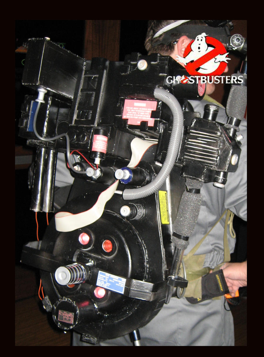 Ghostbusters Proton Pack 2009 By Zephre On Deviantart