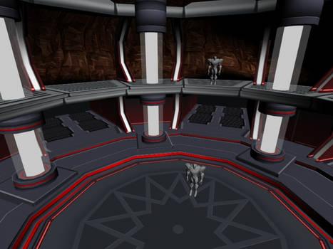 Boss Arena: Miles Dredd Boss Fight