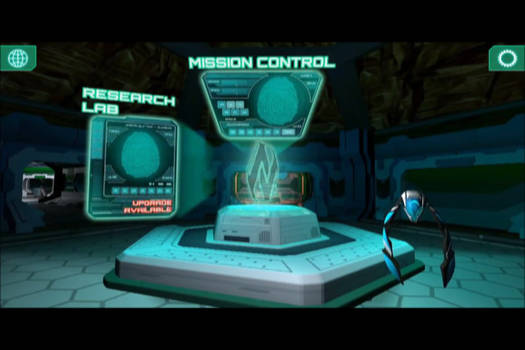 NTek Cental Console:  intro screen