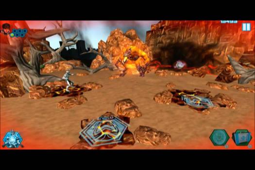 Boss Fight Arena: Fire Elementor