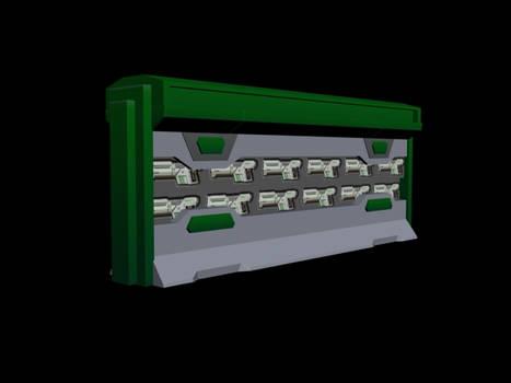 NTek Weapon Rack (open)