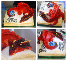 Dungeons and Dragons cake