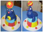 Circus Seal cake