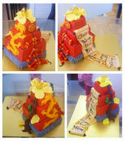 Chinese New Year cake by Cakerific