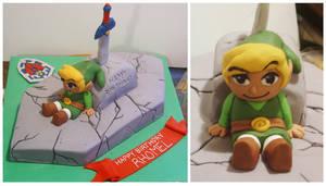 Lengend Of Zelda cake